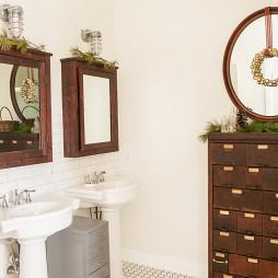 卫生间圣诞装饰品图片