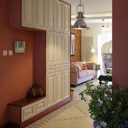 混搭室内设计玄关柜装修效果图