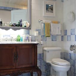 地中海卫浴装修设计效果图
