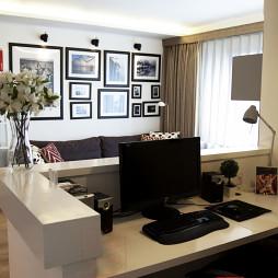 120平米现代简约客厅装修效果图