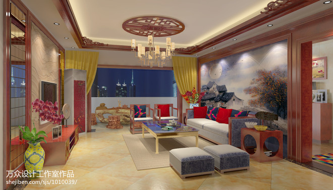 时尚中式家居_1173293