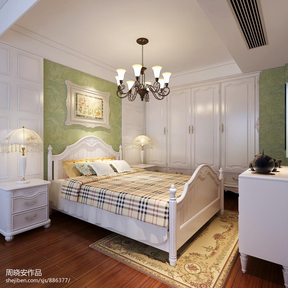 美式风格儿童房整体衣柜装修设计效果图