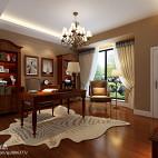 美式风格书房装修效果图片