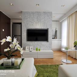现代风格复式楼客厅设计