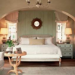 实木床头柜设计效果图