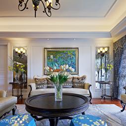 混搭风格别墅客厅室内装饰效果图