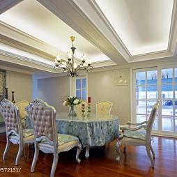 样板房欧式家装餐厅设计图片