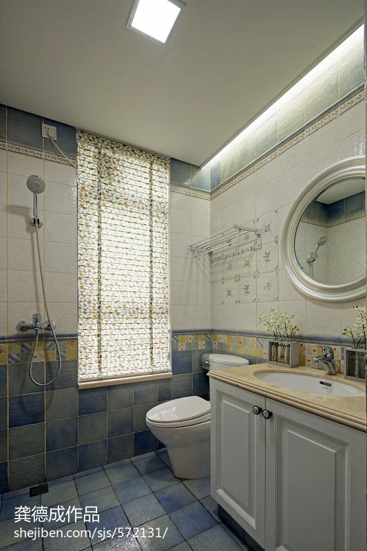 热门资讯_欧式卫生间样板房装修设计 – 设计本装修效果图
