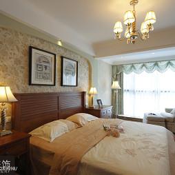 美式卧室家装壁纸效果图