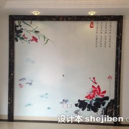 室内壁画装修效果图图集