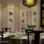 中式风餐厅装修图片