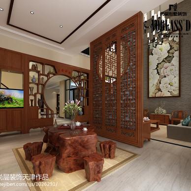 中式和现代风格的混搭设计_别墅设计_1184504