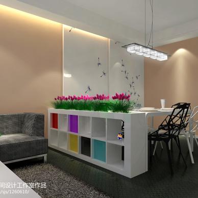 70平米两室一厅装修效果图图片