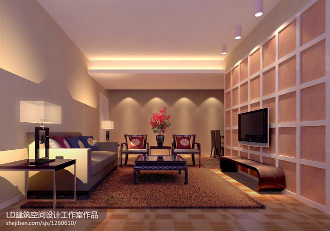 70平米两室一厅装修效果图图集
