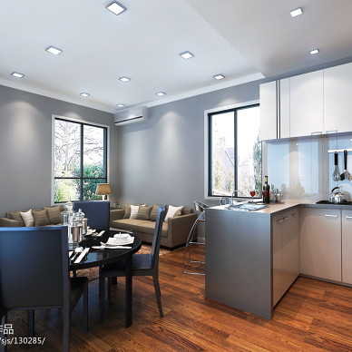 白领公寓效果图欣赏