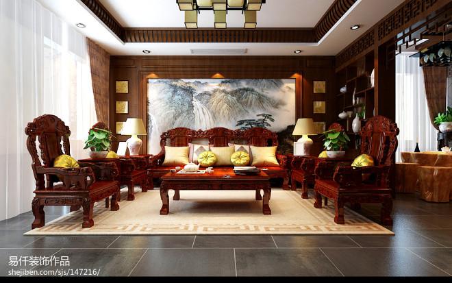 别墅家装手绘墙画效果图