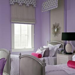 紫色儿童房装饰设计图片大全