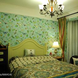 田园风格家装卧室装修图片