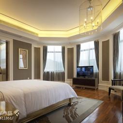 新古典别墅设计卧室窗户设计