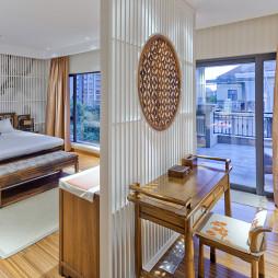 中式卧室隔断设计