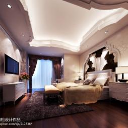 时尚欧式女生卧室效果图