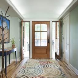 简装进门玄关设计效果图片