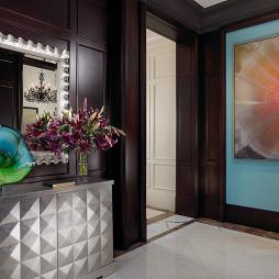 简装进门玄关设计效果图片大全欣赏