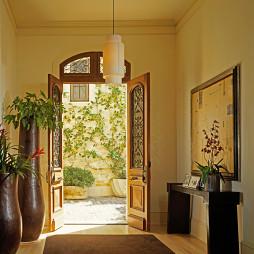 家庭简装进门玄关效果图欣赏