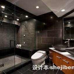 时尚厕所瓷砖装修效果图