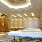 汗蒸房沐浴区设计图欣赏