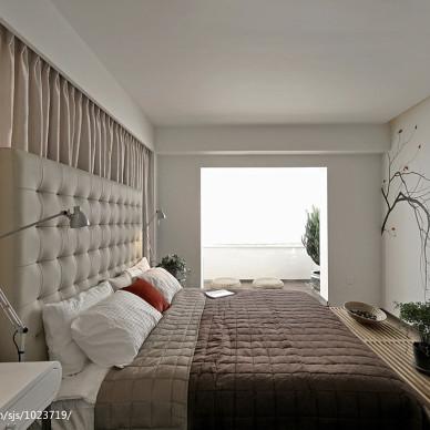 新中式风格卧室门洞造型设计图片