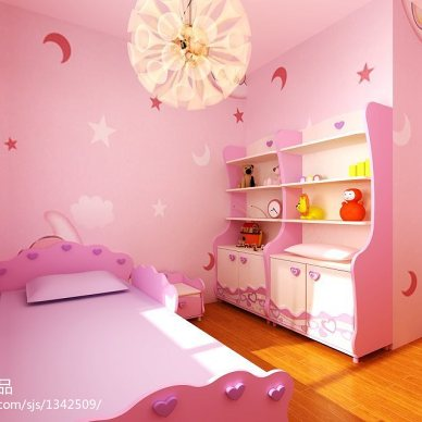 地中海粉红卧室图片