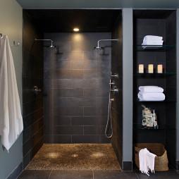 卫生间置物架设计效果图欣赏