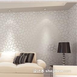 时尚客厅液体壁纸效果图