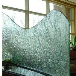 磨砂玻璃花纹隔断图片