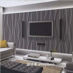 黑白壁纸电视墙图片大全
