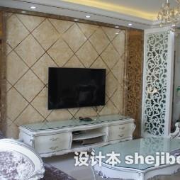 菱形瓷砖电视墙设计图