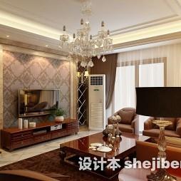 菱形瓷砖电视墙图