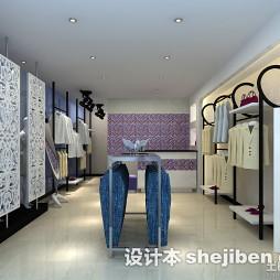 小型服装店面设计