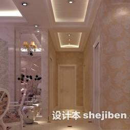 家庭房间玻璃走廊吊顶图片