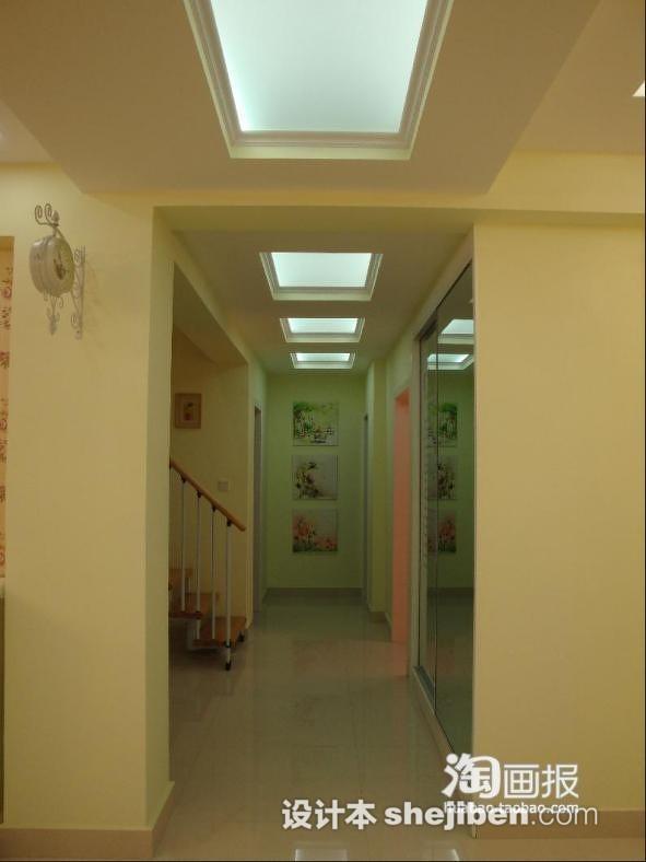 生活资讯_家庭过道走廊玻璃吊顶效果图 – 设计本装修效果图