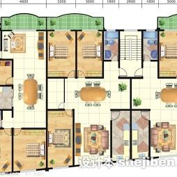 楼房平面图设计