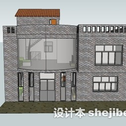 农村两层楼房平面图