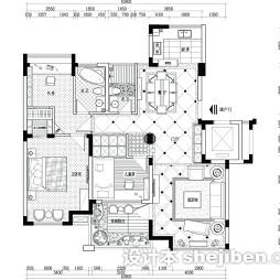 农村楼房平面图