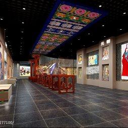 西藏博物馆展柜装修图片大全