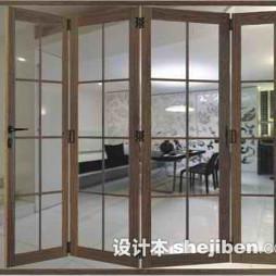 厨房折叠门效果图