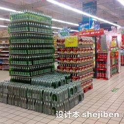 超市商品陈列设计图片