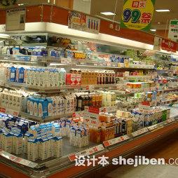 超市商品陈列图片设计