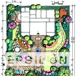 花坛造型设计平面图