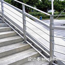 露天楼梯扶手图片